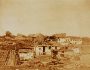 91st Squatter II shacks 1885